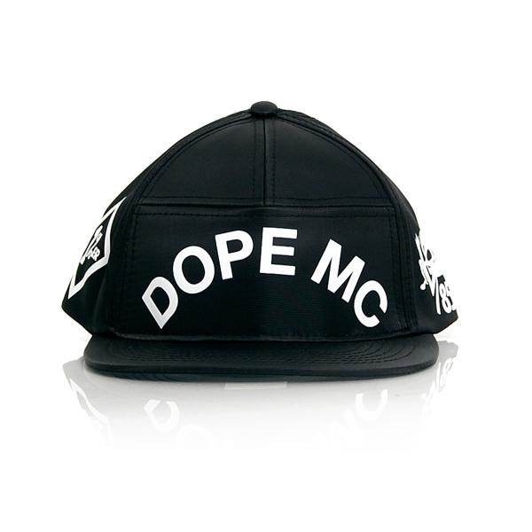 Dope MC Snapback Black