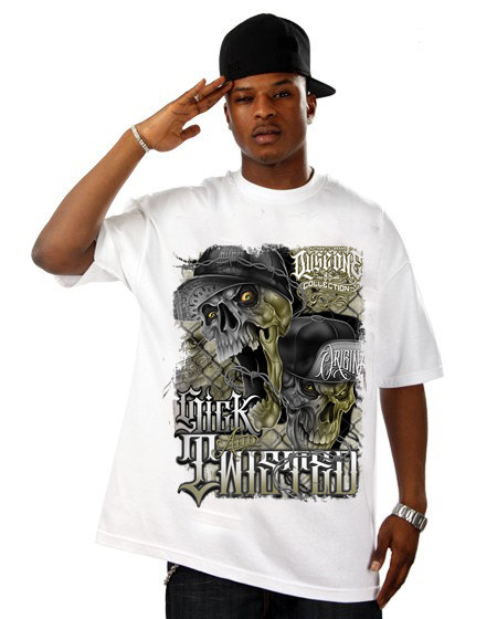 Dyse One Sick N Twisted T-shirt White