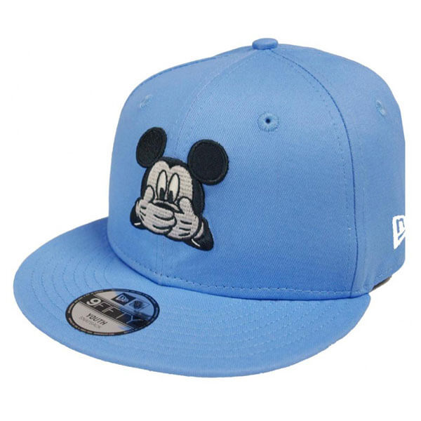 95e0c0a74676 Kids New Era 9Fifty Child Mickey Mouse Disney Exression Sky Blue ...