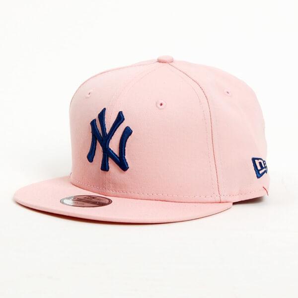 5cf9b7da Kids New Era 9Fifty Youth MLB League Essential NY Yankees Pink Navy ...