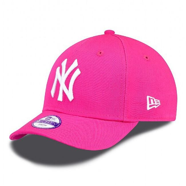 Kids NEW ERA 9FORTY CHILD MLB LEAGUE BASIC NEW YORK YANKEES PINK WHITE - UNI