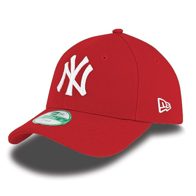 Kids NEW ERA 9FORTY YOUTH MLB LEAGUE BASIC NEW YORK YANKEES RED WHITE - UNI