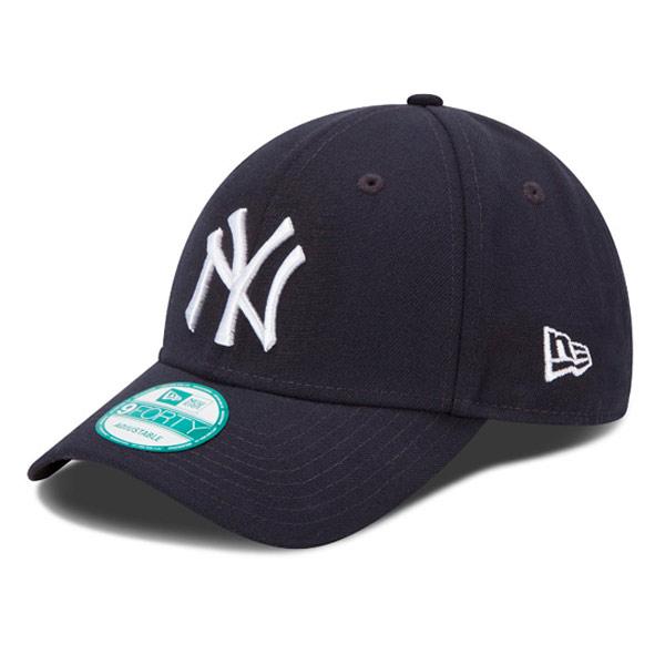 Kids NEW ERA 9FORTY YOUTH MLB LEAGUE BASIC NEW YORK YANKEES NAVY WHITE - UNI