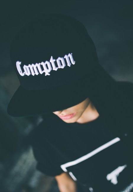 Mr. Tee Compton Snapback black - Gangstagroup.com - Online Hip Hop ... 14df7cf623