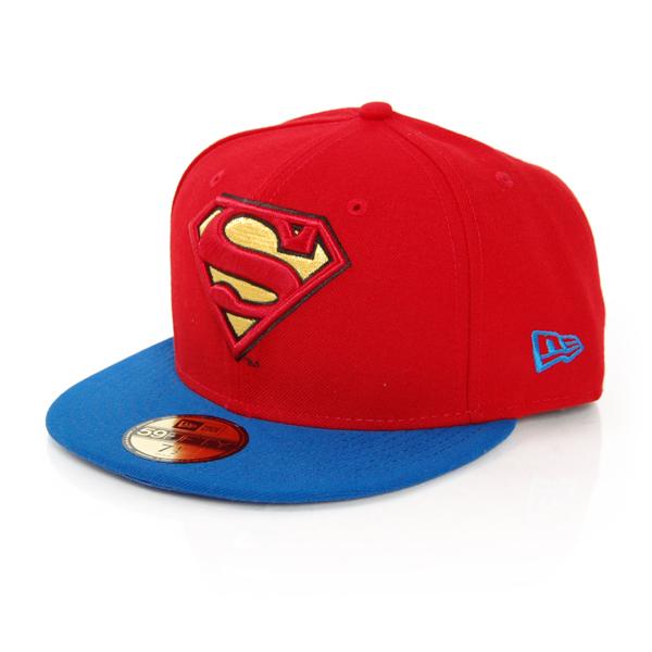 59Fifty Rever Hero Superman Cap - 7 1/4