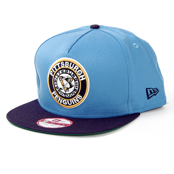 9Fifty Circle K A-Frame Pittsburgh Penguins Blue Navy - M–L