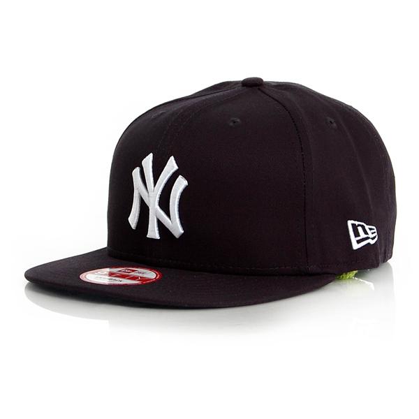 9Fifty MLB Basic NY Yankees Snapback Navy White - M–L