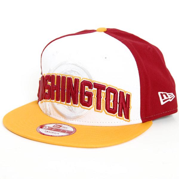 9Fifty NFL FG Draft Washington Redskins Snapback - M–L