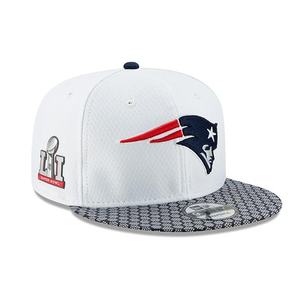 9Fifty Superbowl LI (51) New England Patriots White - UNI