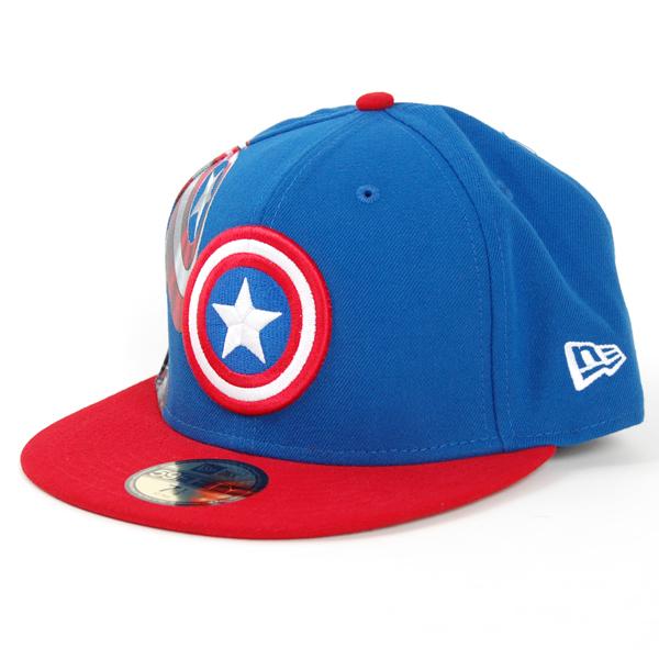 Materialize Captain America 1208 Official Cap - 6 7/8