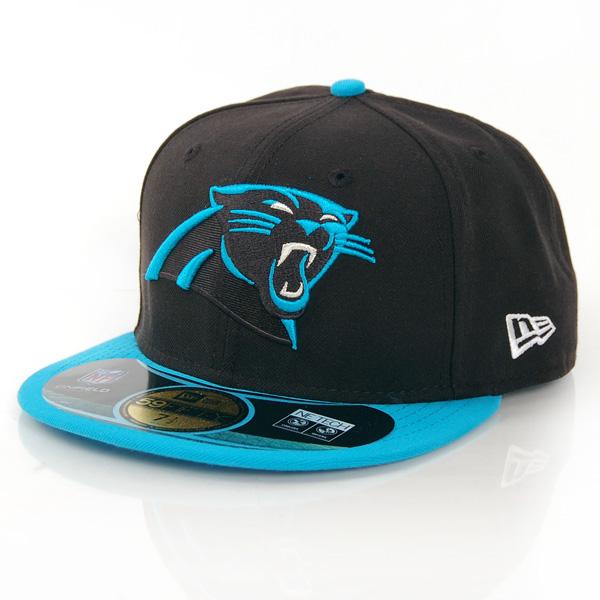 NFL On Field Carolina Panthers Game Cap - 7 1/8