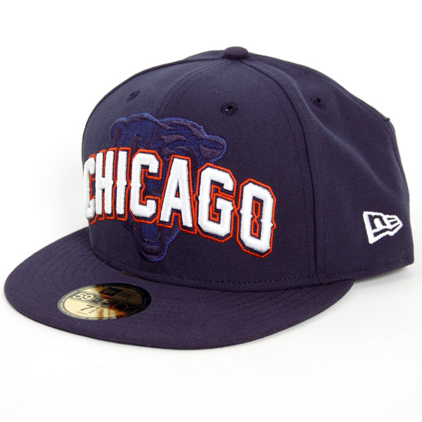 NFL Onf Draft Chicago Bears Cap - 7 1/2