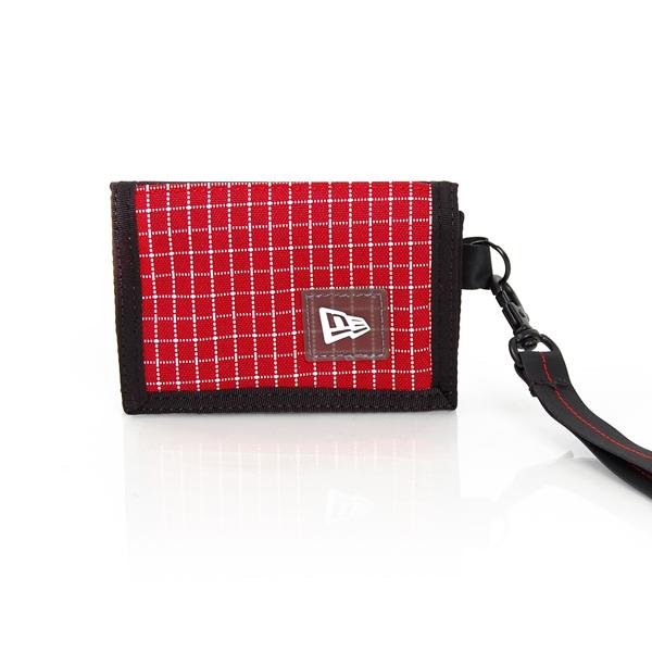 Ristop Tri Fold Wallet Red - UNI