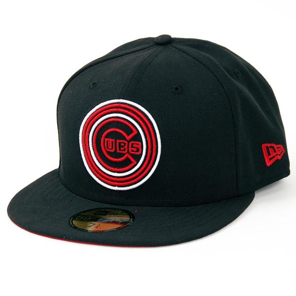 Tripple Spectrum Chicago Cubs Cap Black - 7 1/4
