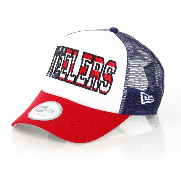 Trucker America Steelers Cap - UNI