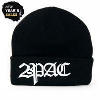2-Pac Logo Winter Cap Black