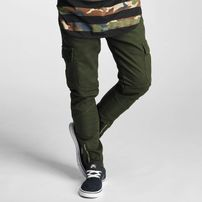 2Y Adres Slim Fit Cargo Jeans Olive