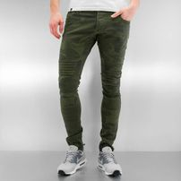 2Y Faro Skinny Jeans Camouflage