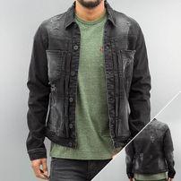2Y Talmon Denim Jacket Black