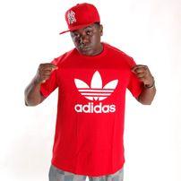 Adidas Adi Trefoil Tee Red