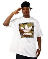Adidas Camo Box Tee White AZ1087
