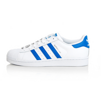 Adidas Superstar White Royal Blue S75929