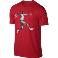 Air Jordan 5 T-shirt Red 864923-657