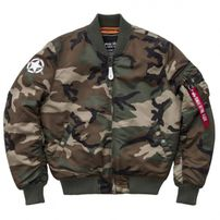 Alpha Industries MA-1 VF Army Wdl Camo