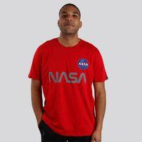 alpha industries NASA Reflective T-Shirt Red