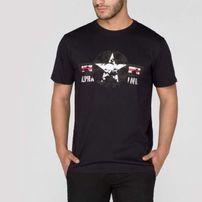Alpha Industries USAF Tee Black White