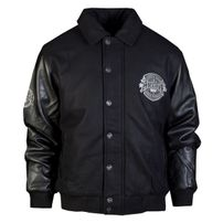 Amstaff Basto College Jacket Black