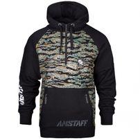 Amstaff zervis Half Zip Hoodie Camouflage