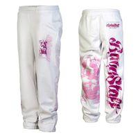Babystaff Merah Sweatpants White Pink
