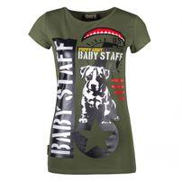 Babystaff Sotilas T-shirt Olive