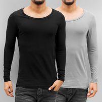 Bangastic 2-Pack Long Sleeve Black/Grey