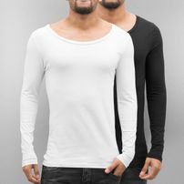 Bangastic 2-Pack Long Sleeve Black/White