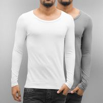 Bangastic 2-Pack Long Sleeve White/Grey