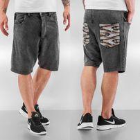 Bangastic Crocodile Shorts Dark Grey/Colored