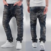Bangastic Dirty Antifit Jeans Blue
