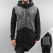 Bangastic Lunas Zip Hoody Black/Acid Grey Wash