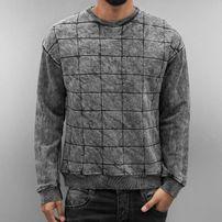 Bangastic Nevio Sweatshirt Grey Acid Wash