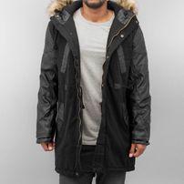 Bangastic PU Sleeves Coat Black