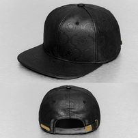 Bangastic PU Snapback Cap Black