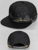 Bangastic / Snapback Cap Flower in black