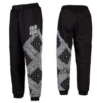 Blood In Blood Out Blood Black Bandana Sweatpants