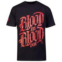 Blood In Blood Out Blood Logo T-Shirt- schwarz