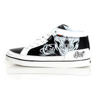 Bsat Cali Swag Shoes Black White