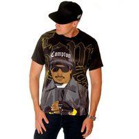 Bsat Gangsta Rap Legend Eazy Sublimation Custom Fit Tee
