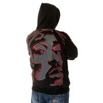 Bsat Tupac Art Hoodie Black