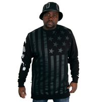 Cayler & Sons Black Label Flagged Long Crewneck